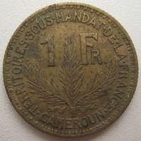 Камерун 1 франк 1925 г