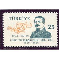 Турция. Ибрахим Шинаси, османский писатель, публицист, общественный деятель