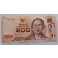 Таиланд 100 бат 2017 (ПРЕСС)