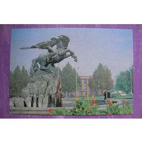 Пушкин А.(фото), Ереван. Памятник Давиду Сасунскому; 1989, чистая.