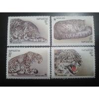 Киргизия 1994 Снежный барс WWF полная серия
