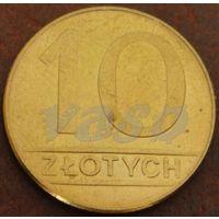 4609:  10 злотых 1990 Польша