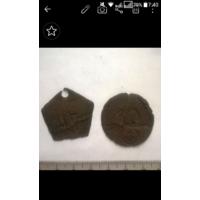 Два жетона ркка-ркмф 1930-1940 год