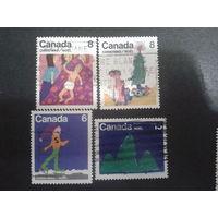 Канада 1975 Рождество, рисунки детей