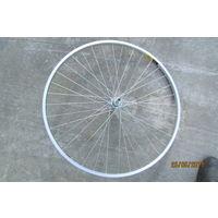 Колесо велосипеда заднее 630 мм  обод алюминий есть велопокрышка к нему