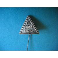 """Значок """" El Mont Gdansk"""""""