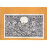Бельгия  100 франков \ 20 бельгас 1944г.
