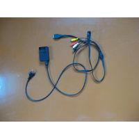 Зарядное и кабель к фотоаппарату SONY