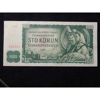 Чехословакия 100 крон 1961г