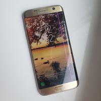 Samsung Galaxy S7 Edge 32GB Dual SIM Gold (золотистый). Snapdragon. Шикарный Флагман! Крутой мегафункциональный аппарат. На лучшем процессоре! Можно ставить 2 симки или симку и флешку. Работает идеаль