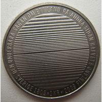 Швеция 1 крона 2009 г. 200 лет отделения Финляндии (u)