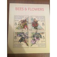 Соломоновы острова 2013. Пчёл. Малый лист.