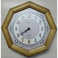 Часы настенные на реставрацию, Тикают.