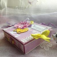 Коробочка для денег для девочки