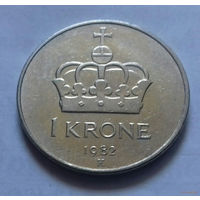 1 крона, Норвегия 1982 г.