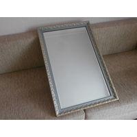 Зеркало деревянная рамка винтаж Германия 55 х 88 см.