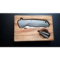 Нож Lionsteel Molletta T.R.E. Blue Titanium