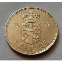1 крона, Дания 1979 г.