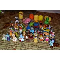 Большой лот КИНДЕР-игрушек  с 1 рубля без МЦ!!!