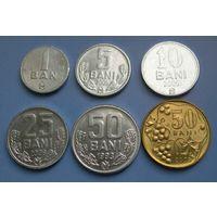 Молдова. Бани. 6 монет (UNC)