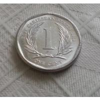 1 цент 2011 г. Восточные Карибы