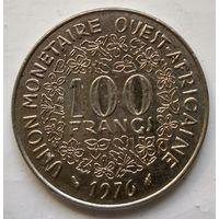 Западная Африка 100 франков, 1976  1-4-38