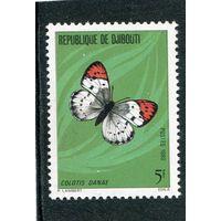 Джибути. Бабочка. Малиновый наконечник