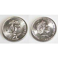 Соломоновы острова - 10 центов 2012