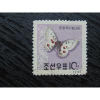 Корея 1962г. фауна