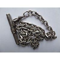 Куплю серебряную цепь на часы царскую