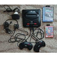 Sega Mega Drive II Оригинал model-1631-50