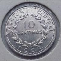 Коста-Рика 10 сентимо 1982 года.