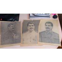 Вырезки из газет Сталин и Василевский