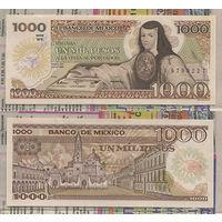 Распродажа коллекции. Мексика. 1 000 песо 1984 года (P-81a.14 - 1983-1984 Issue)