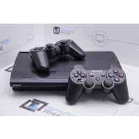 Игровая приставка Sony PlayStation 3 Super Slim 250GB (2 геймпада). Гарантия.