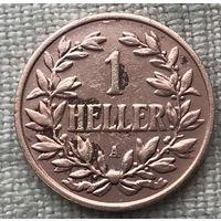 Немецкая Восточная Африка 1 геллер 1905 A
