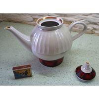 Чайник фарфоровый большой заварочный  СССР