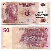 Конго, 50 франков, 2013г. UNC   распродажа
