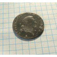 4 гроша 1767  (1 злотый), Станислав Август Понятовский