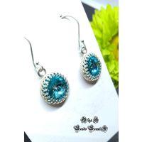 Комплект Swarovski Light Turquoise