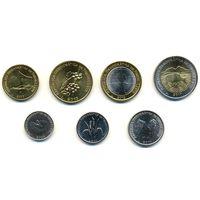 Восточный Тимор. 7 монет 2003 - 2017 гг.