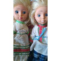 Куколки. 2 шт.. Белорус и белорусочка.
