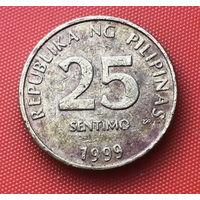 11-10 Филиппины, 25 сентимо 1999 г.