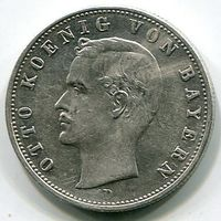 БАВАРИЯ - 2 МАРКИ 1902