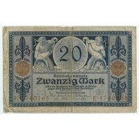 Германия, 20 марок 1915 года.