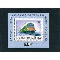 Румыния. Дизельная электричка, блок