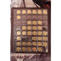 """Лист для монет на 48 ячеек (формат """"Optima""""), жёсткие."""