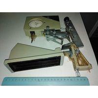 Измерительный токарно-фрезировочный прибор с двумя индикаторами и дополнительными линейками