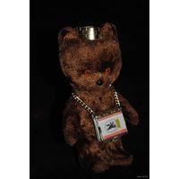 Мишка с брелком-книжкой из Германии., - продаю это только вместе, - *высота мишки 13см.