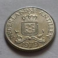 25 центов, Нидерландские Антильские острова, (Антиллы) 1979 г.